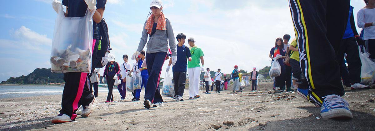 第15回九十九里浜全域清掃大作戦