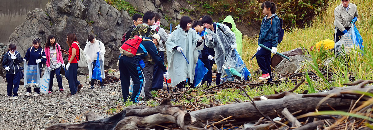 第1次青森県日本海沿岸清掃活動
