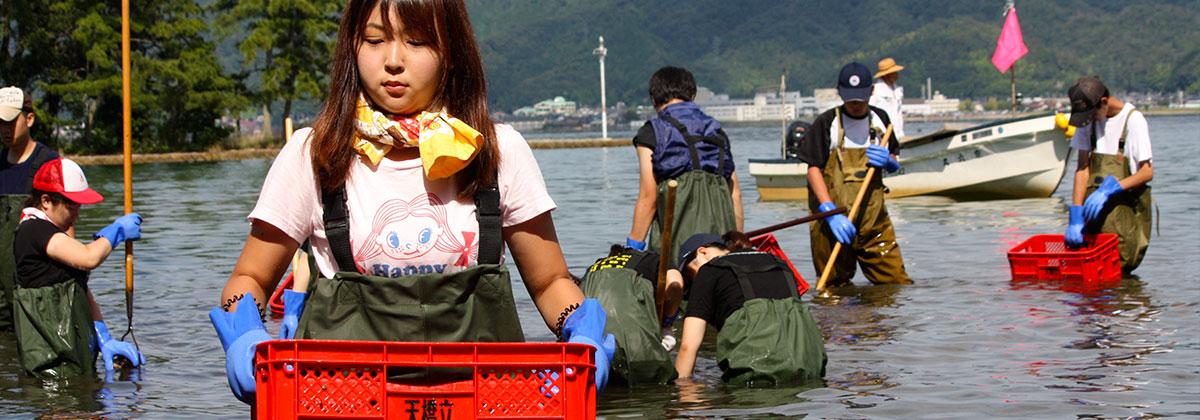 京都府阿蘇海環境づくり活動