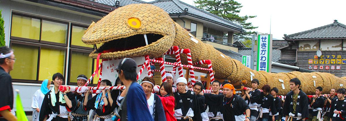 関川大したもん蛇祭り活性化活動2016