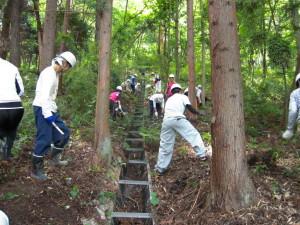 長野森林整備活動1